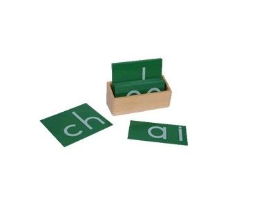 英文雙音字母砂板
