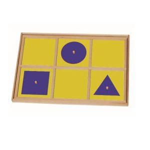 幾何圓形拼板組合