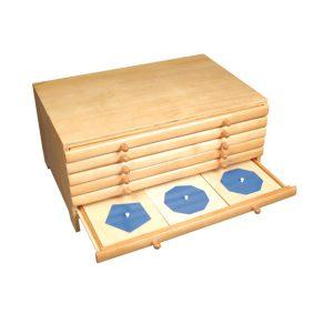 幾何拼板櫃