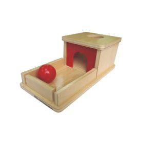 Montessori Object Permanence Box